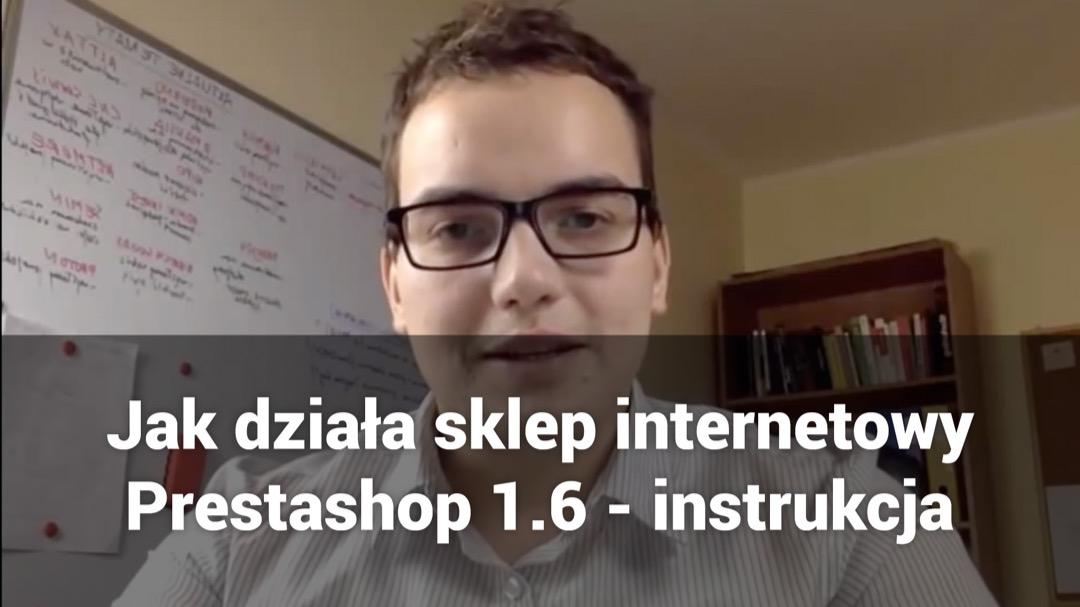 Jak działa sklep internetowy Prestashop - instrukcja