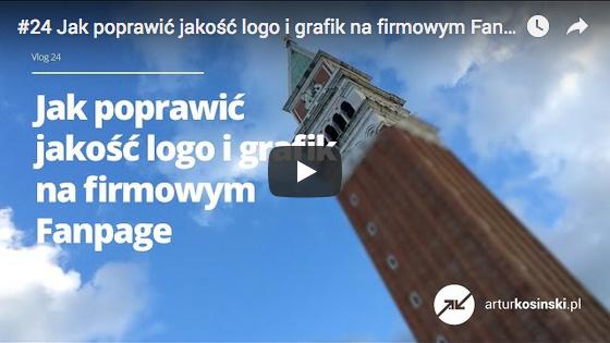 Jak poprawić jakość logo i grafik na firmowym Fanpage